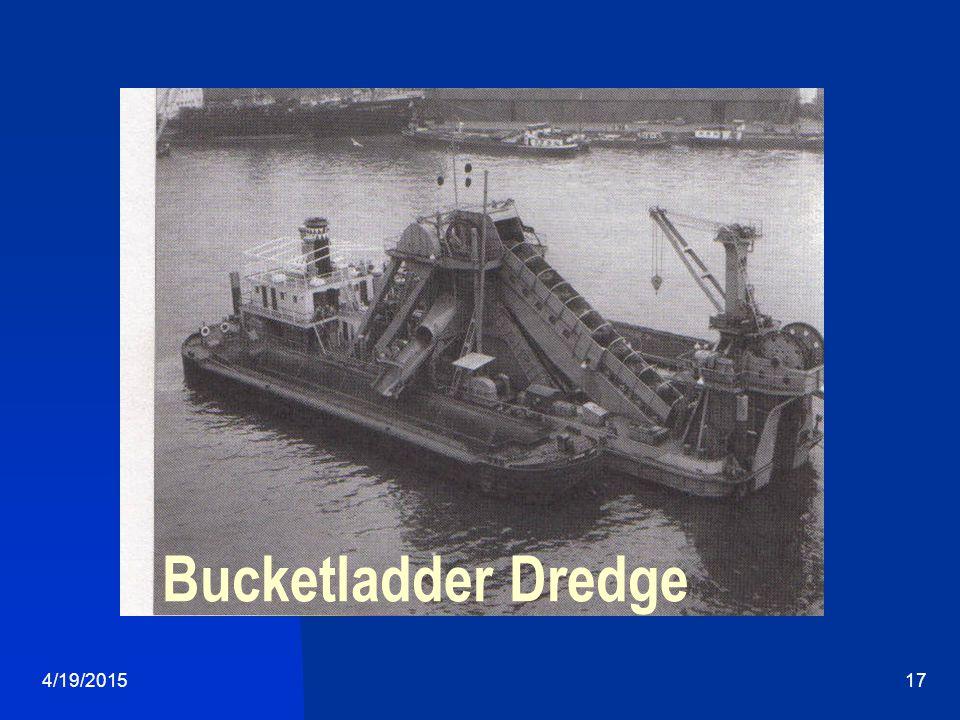 4/19/201517 Bucketladder Dredge