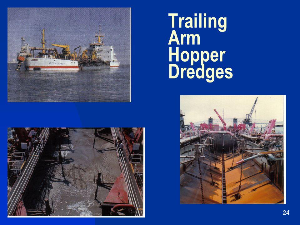 4/19/201524 Trailing Arm Hopper Dredges
