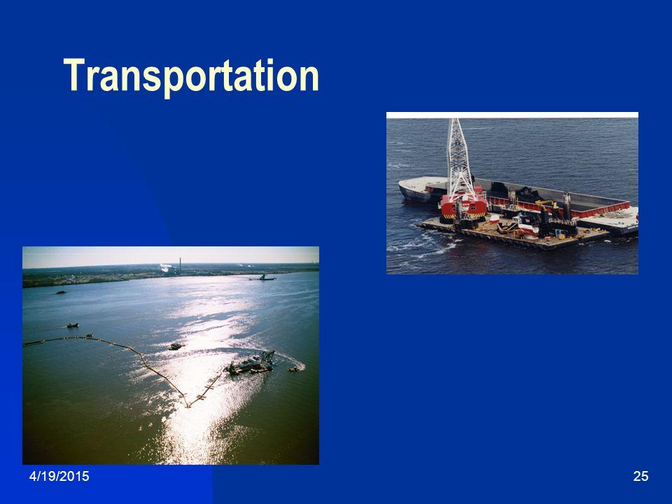 4/19/201525 Transportation