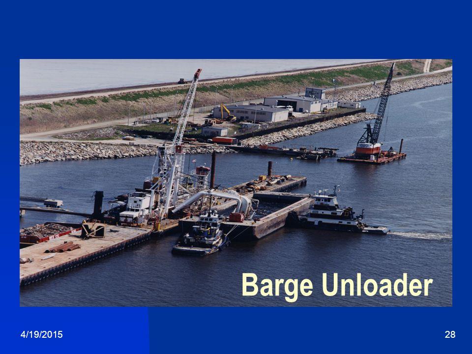 4/19/201528 Barge Unloader