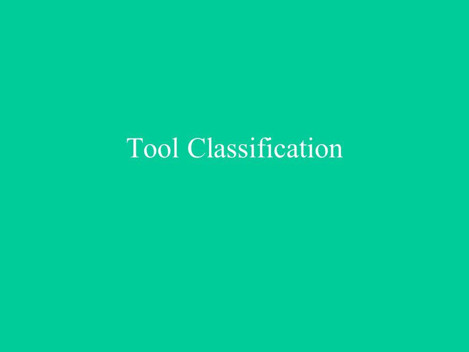 Tool Classification