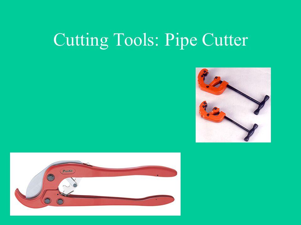 Cutting Tools: Pipe Cutter
