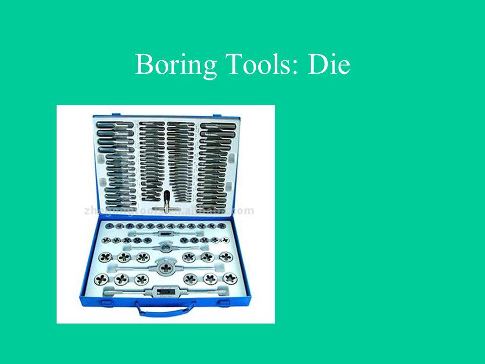 Boring Tools: Die