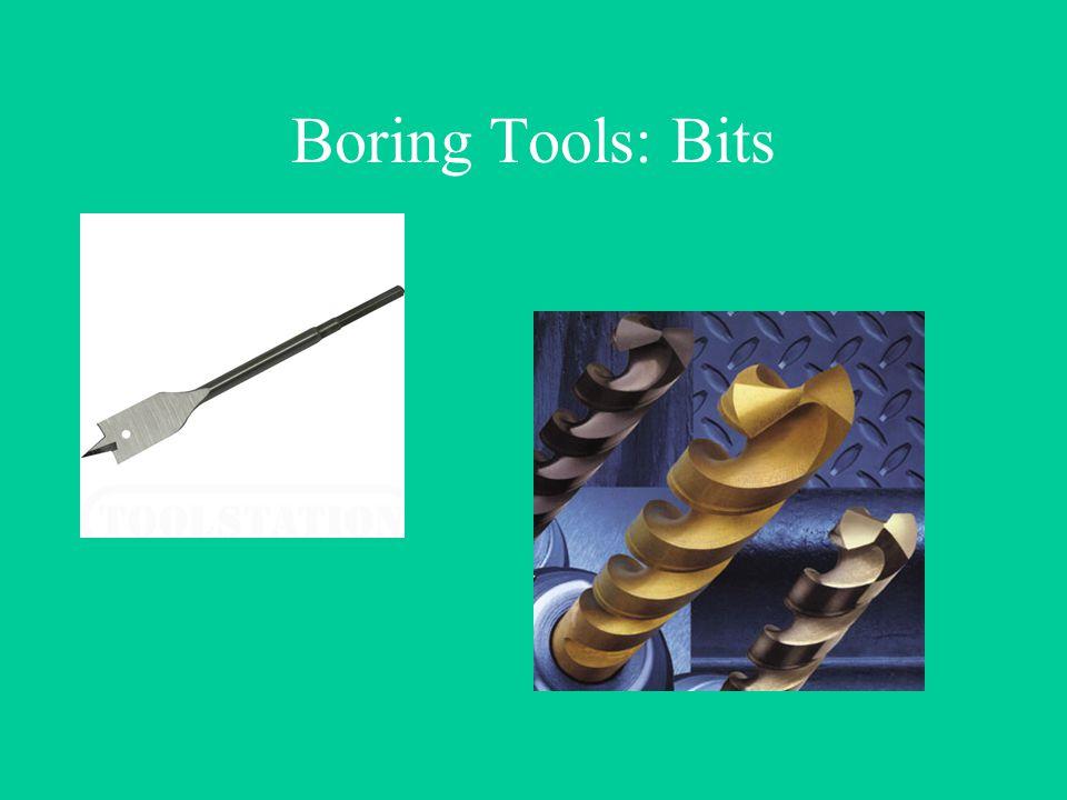 Boring Tools: Bits