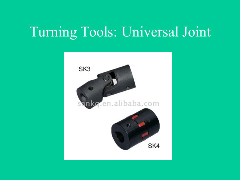 Turning Tools: Universal Joint