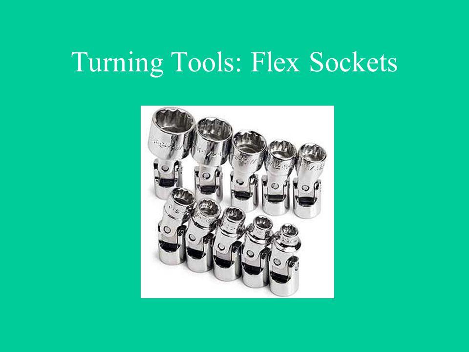 Turning Tools: Flex Sockets