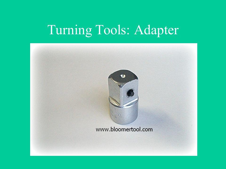 Turning Tools: Adapter