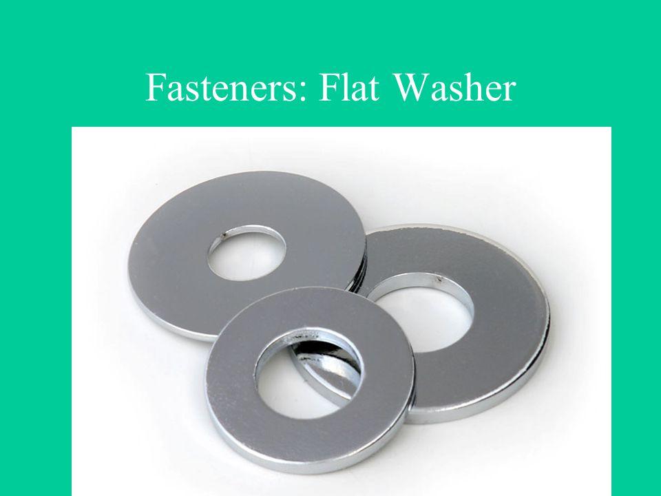 Fasteners: Flat Washer