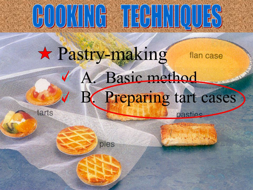 Cut the pastry of the required thickness with a pastry cutter.