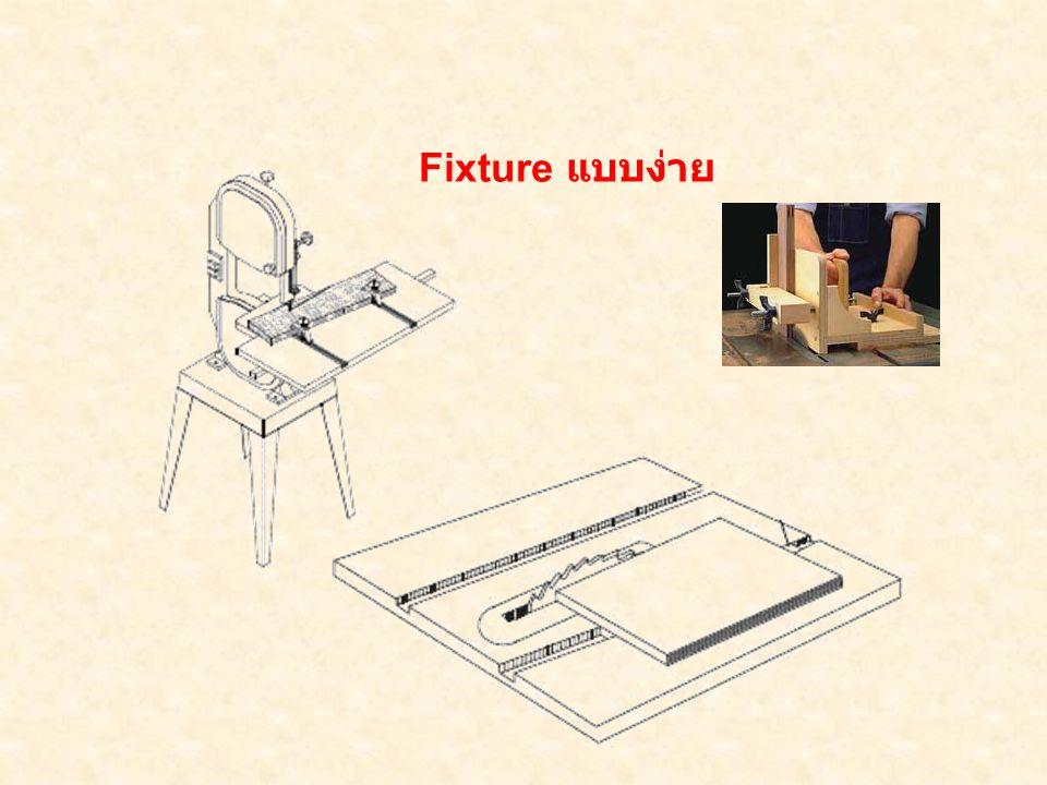ชิ้นงา น Duplex Fixture or Multistation Fixture