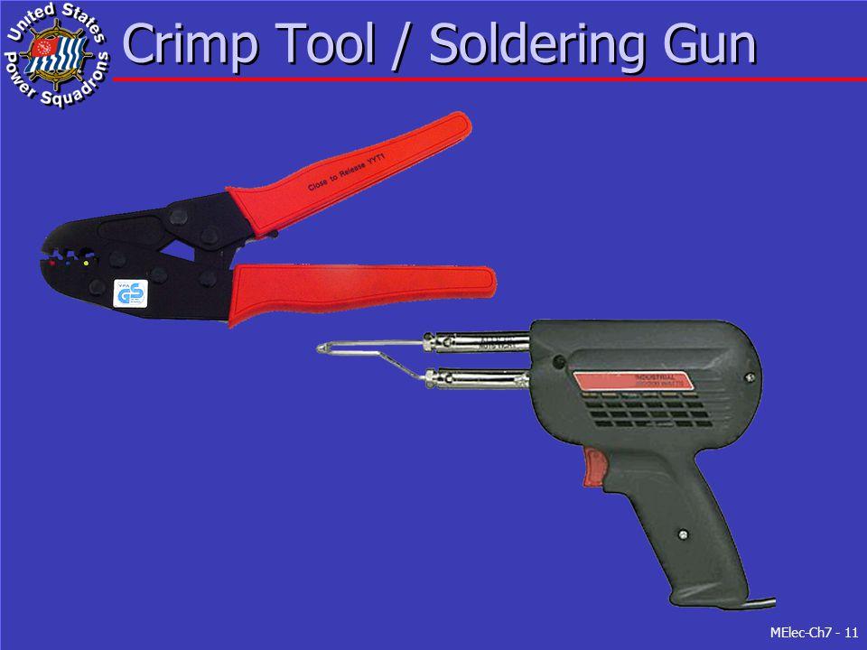 MElec-Ch7 - 11 Crimp Tool / Soldering Gun