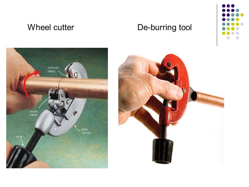 Wheel cutterDe-burring tool