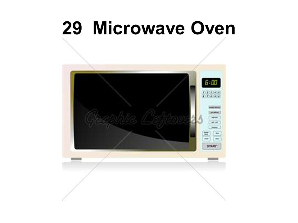 29 Microwave Oven