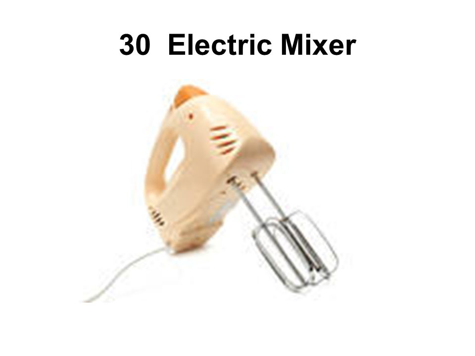 30 Electric Mixer
