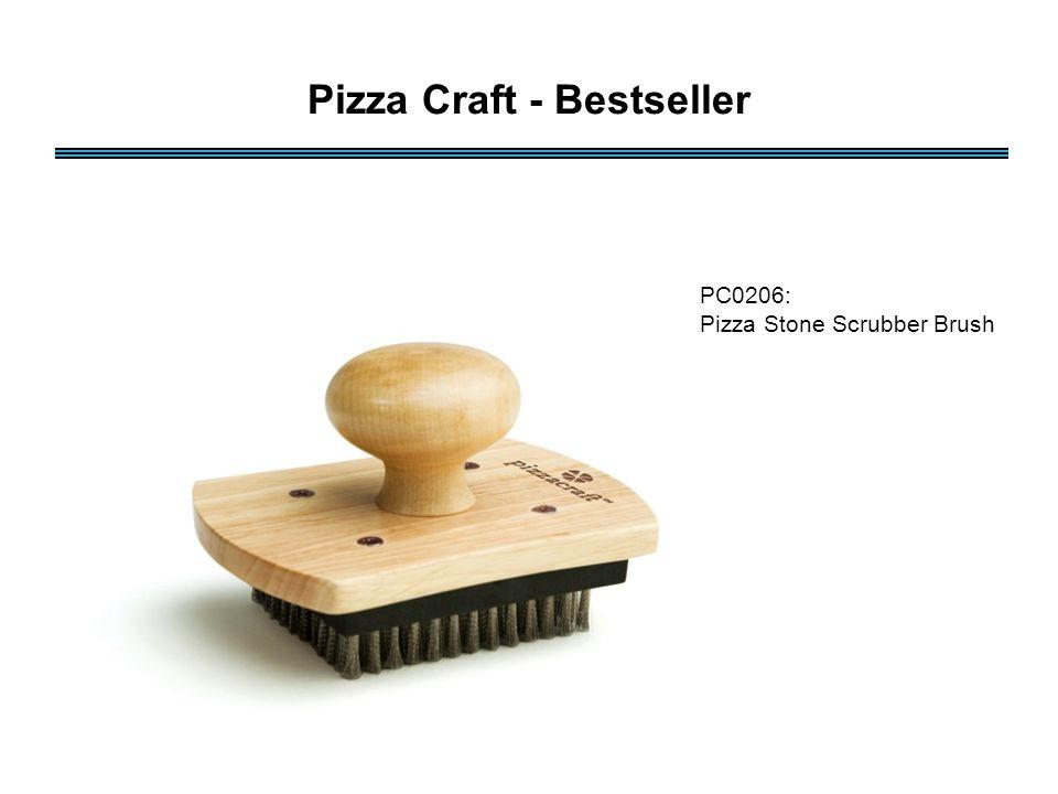 PC0206: Pizza Stone Scrubber Brush Pizza Craft - Bestseller