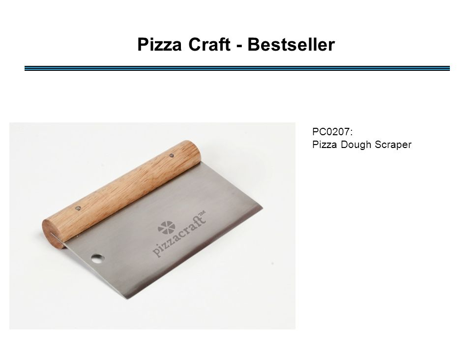 PC0207: Pizza Dough Scraper Pizza Craft - Bestseller
