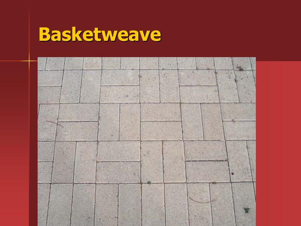 Basketweave