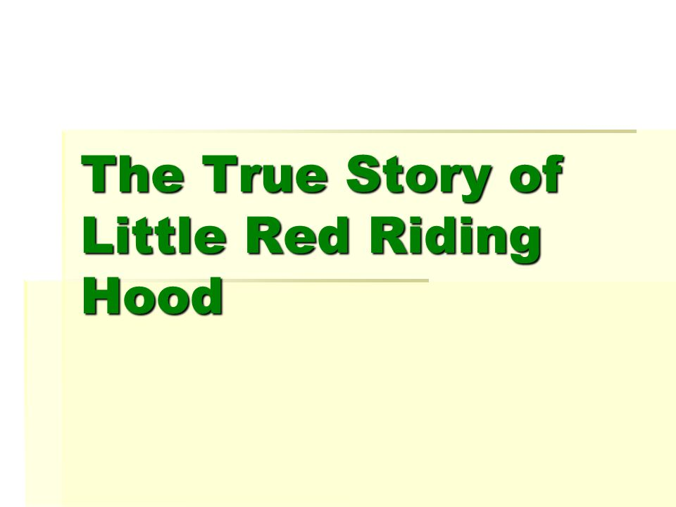 They had jaffa cakes and tea. Wolf told Granny about Little Red Riding Hood.