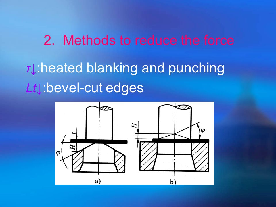 L↓ : stepping punch(multiple punches) 2. Methods to reduce the force