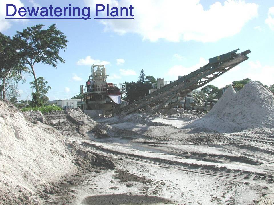Dewatering Plant