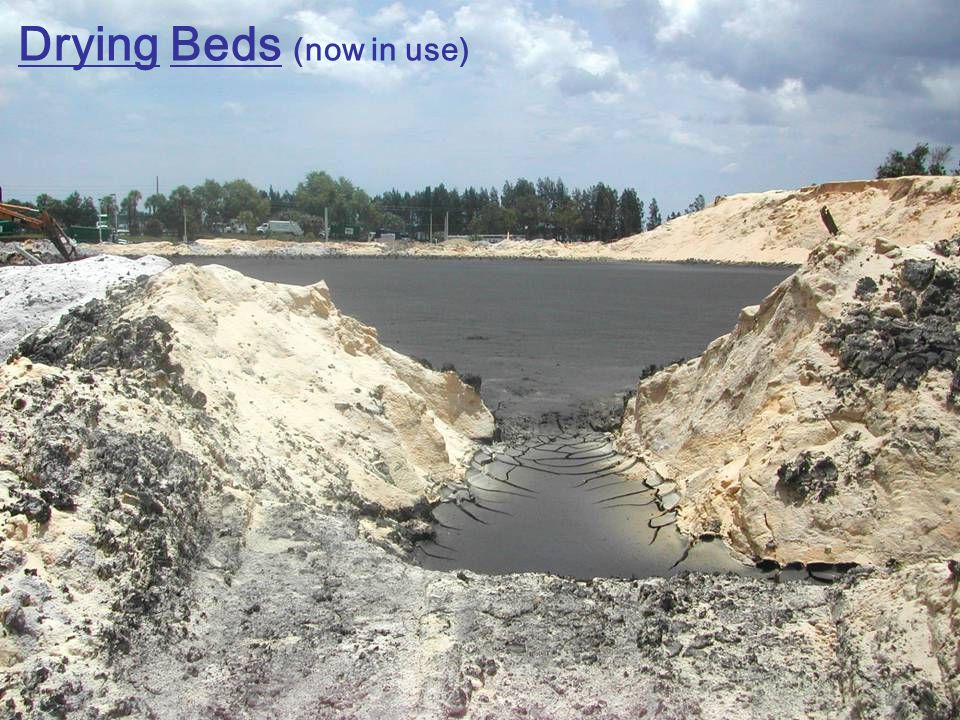 Drying Beds (now in use)