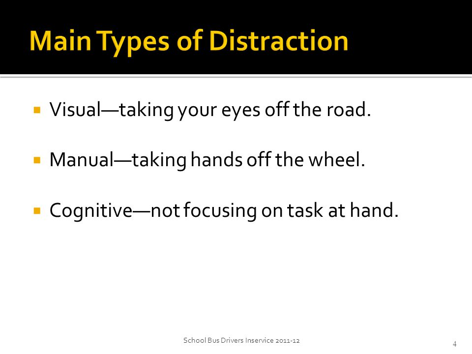  Limit interaction with passengers. Avoid talking while driving.