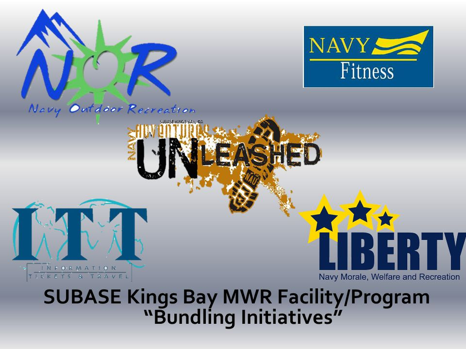 "SUBASE Kings Bay MWR Facility/Program ""Bundling Initiatives"""