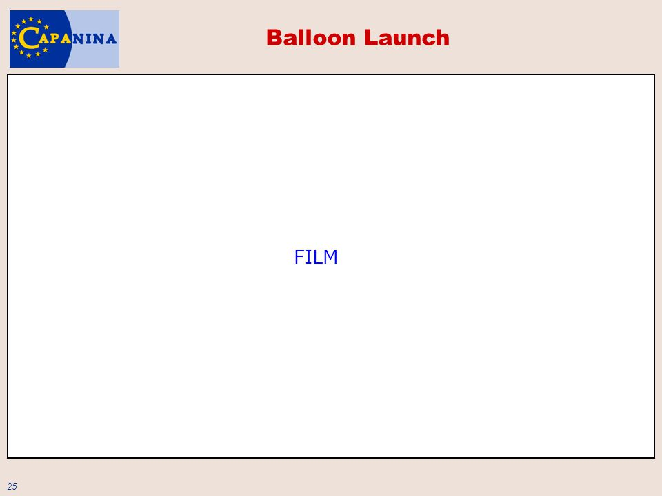 25 Balloon Launch FILM