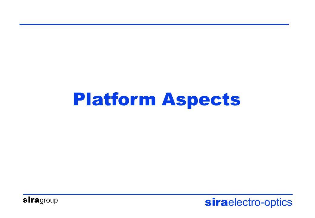 sira group sira electro-optics Platform Aspects