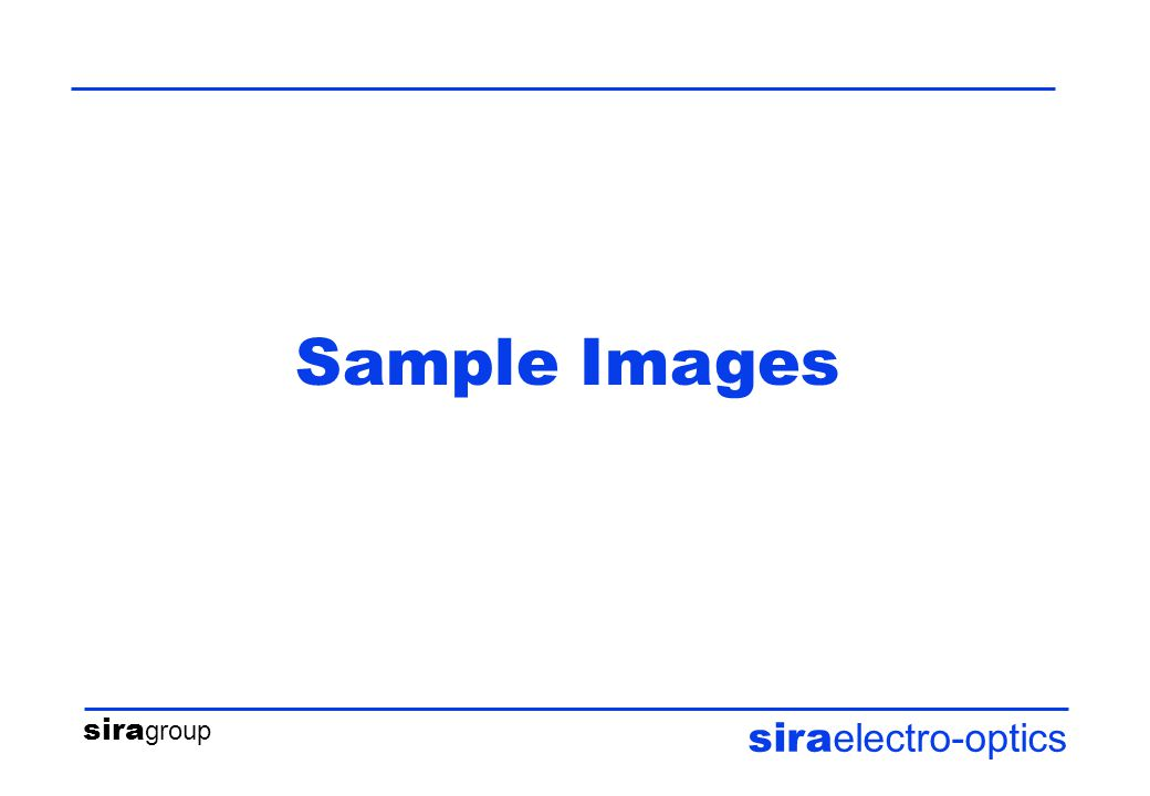 sira group sira electro-optics Sample Images