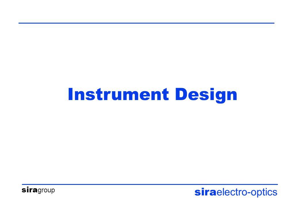 sira group sira electro-optics Instrument Design