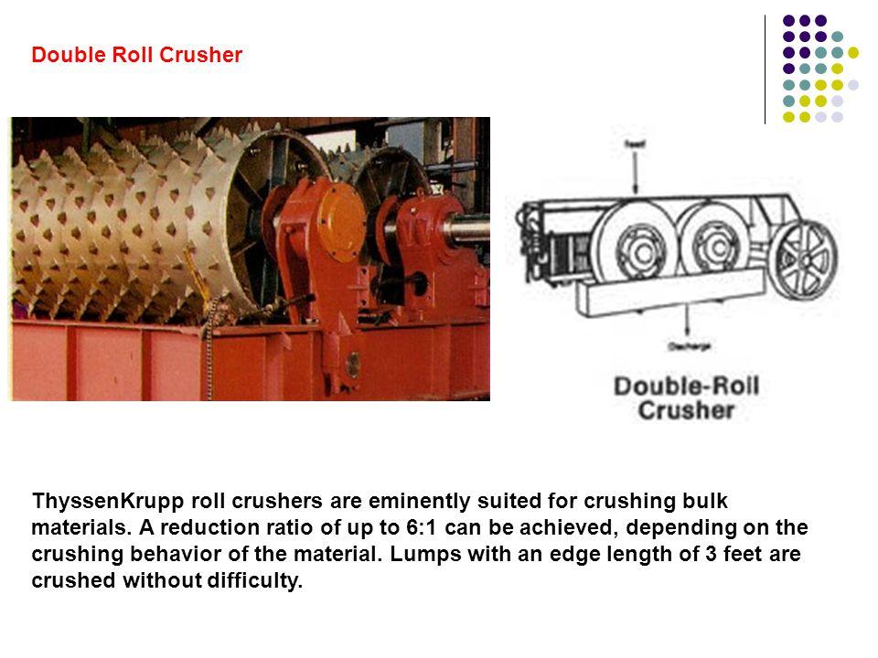 Crushing roll