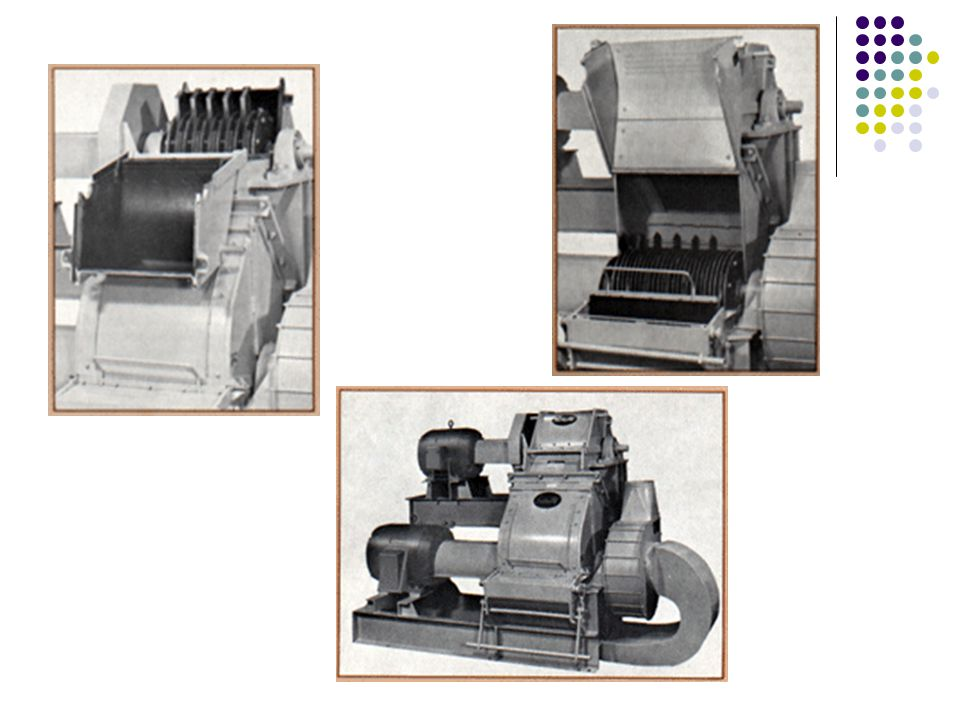 SPECIFICATIONS - SCHUTTE HOGERIZER Model FG-Z Upper Unit: Schutte Series HZF Wood Waste Grinder with Coarse Grate.