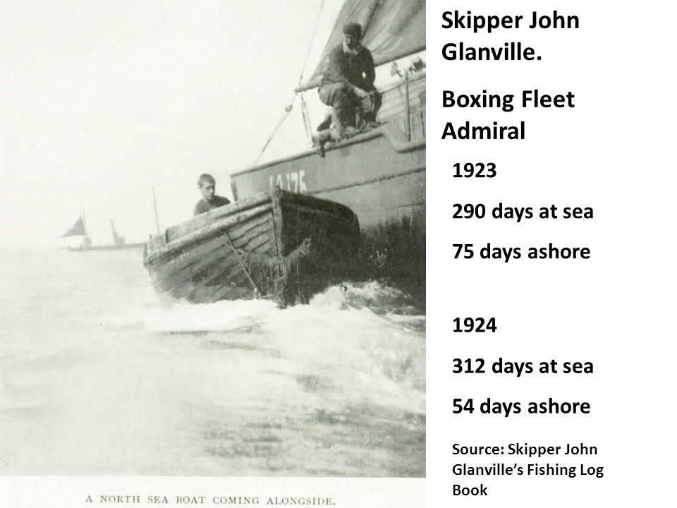 Skipper John Glanville.