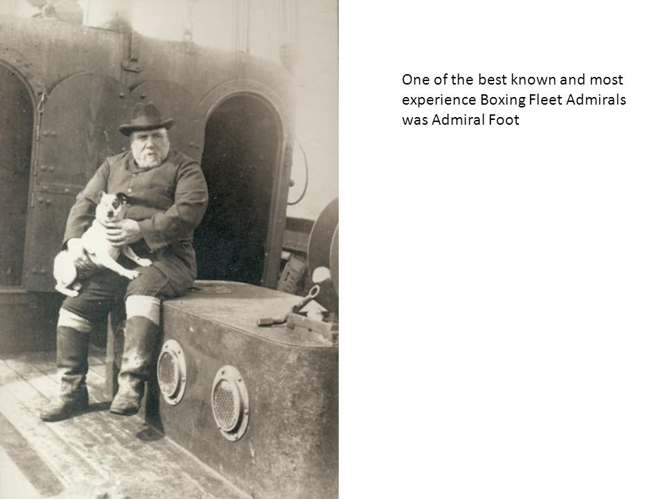 One of the best known and most experience Boxing Fleet Admirals was Admiral Foot