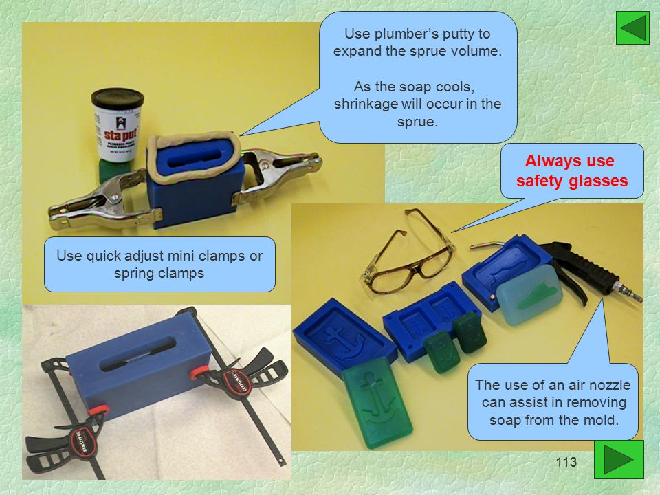 Use plumber's putty to expand the sprue volume.