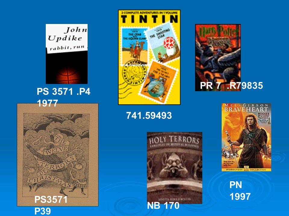 PS3571 P39 NB 170 741.59493 PR 7.R79835 PN 1997 PS 3571.P4 1977