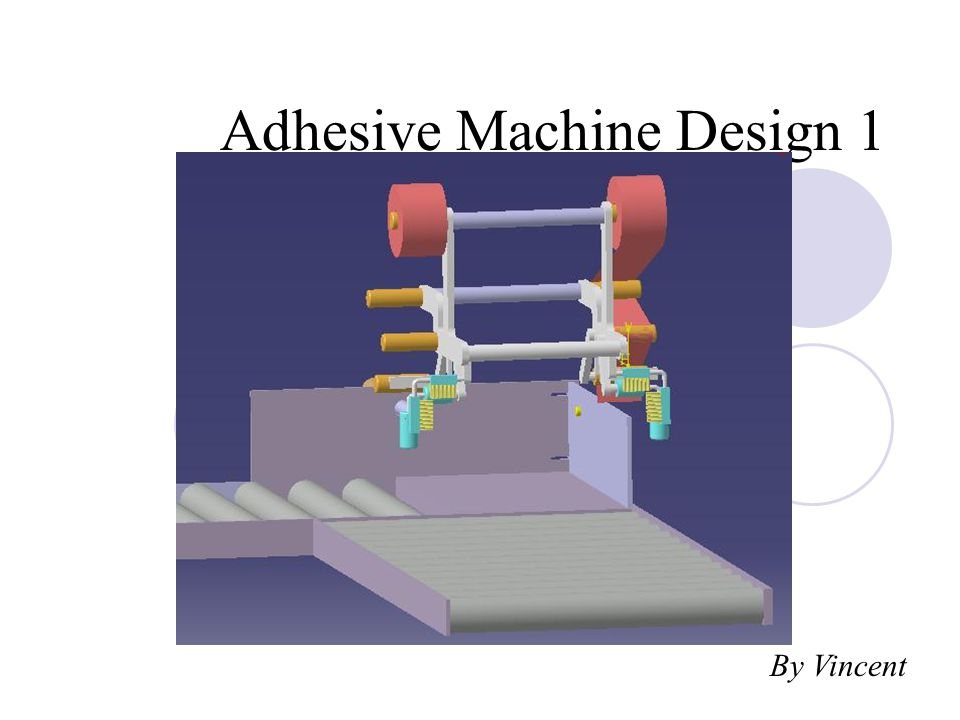 Adhesive Machine Design 1 By Vincent