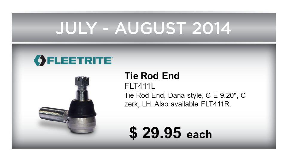 Tie Rod End FLT411L Tie Rod End, Dana style, C-E 9.20