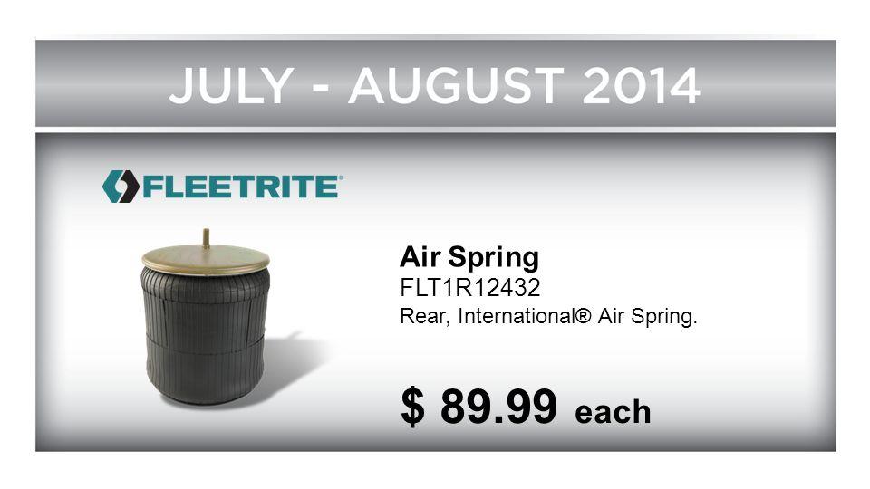 Air Spring FLT1R12432 Rear, International® Air Spring. $ 89.99 each