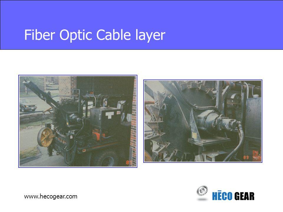 www.hecogear.com Fiber Optic Cable layer