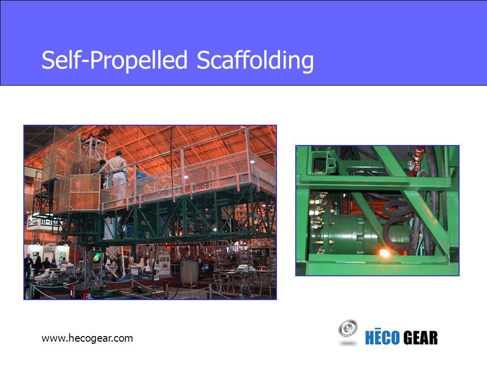 www.hecogear.com Self-Propelled Scaffolding