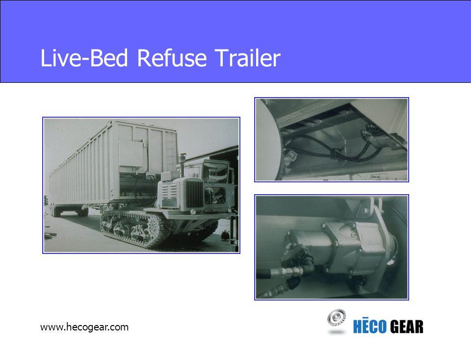 www.hecogear.com Live-Bed Refuse Trailer