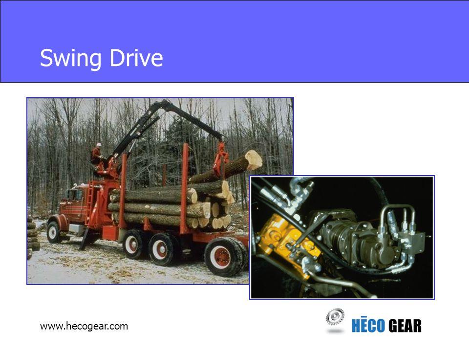 www.hecogear.com Swing Drive