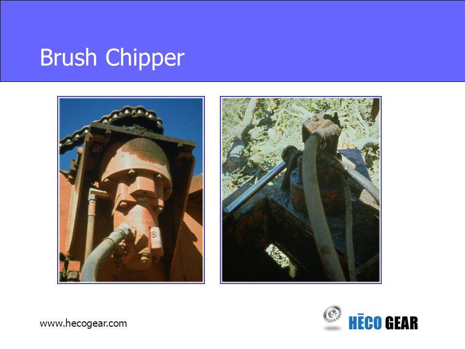 www.hecogear.com Brush Chipper