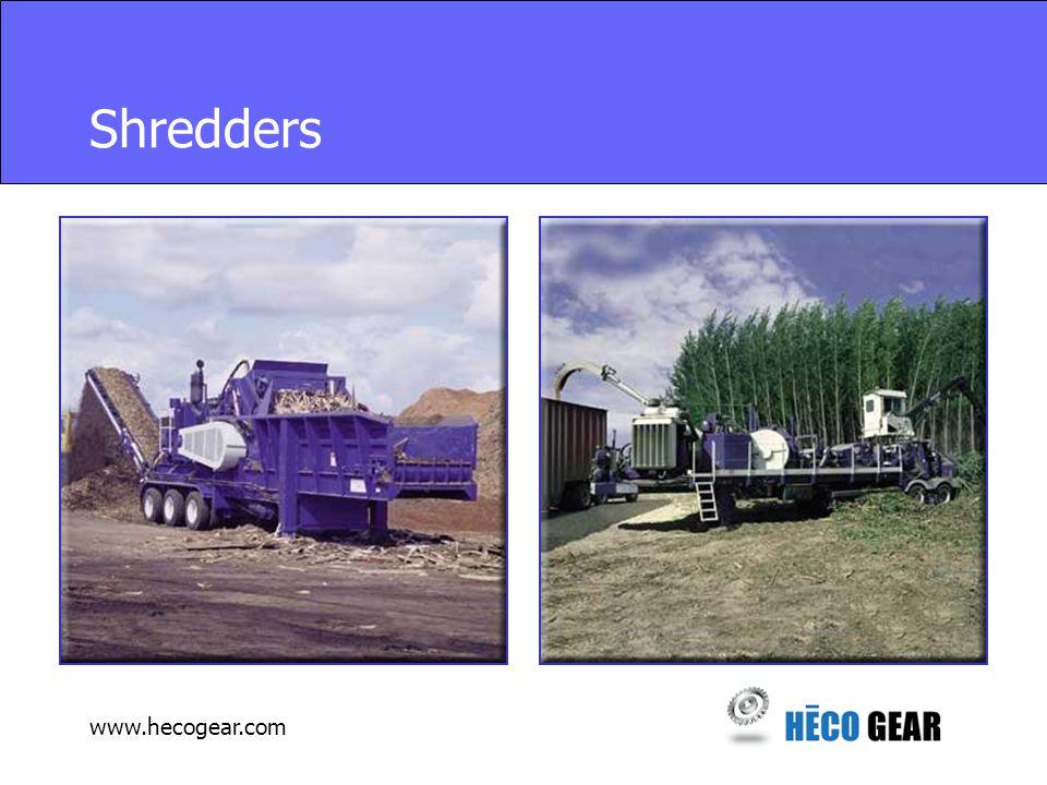 www.hecogear.com Shredders