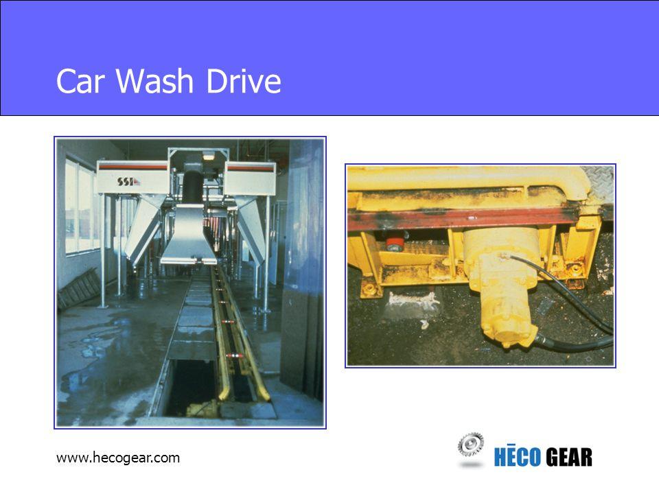 www.hecogear.com Car Wash Drive
