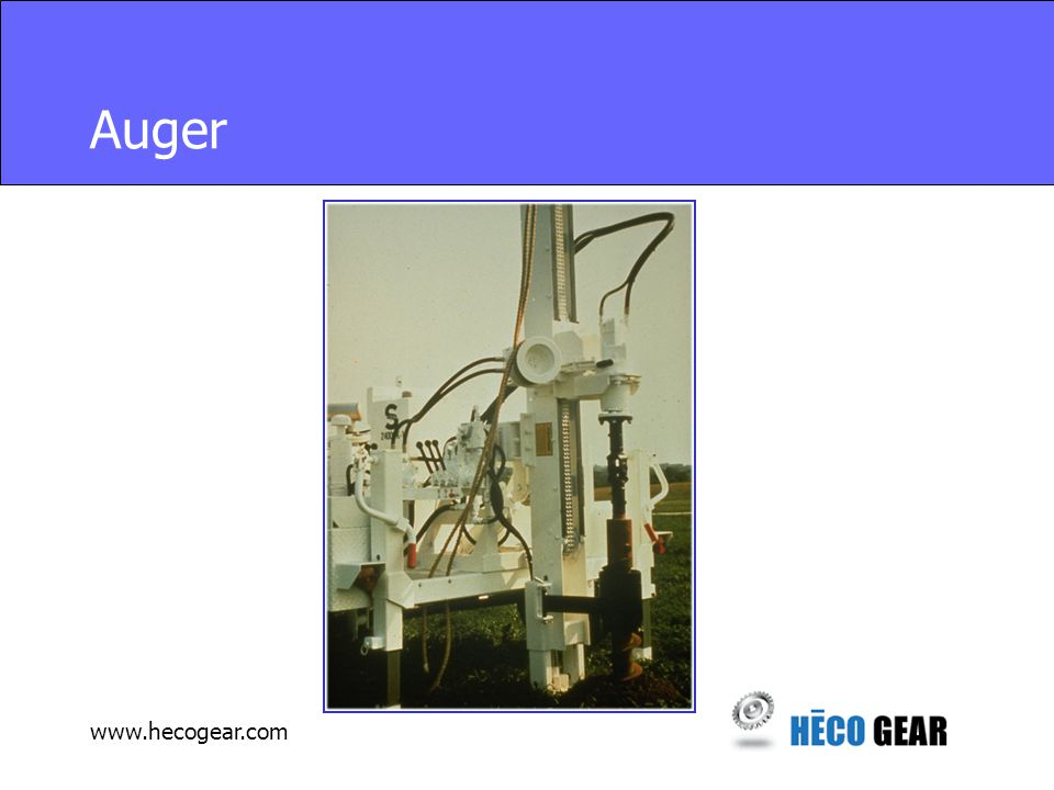 www.hecogear.com Concrete Pumper Cross Conveyor