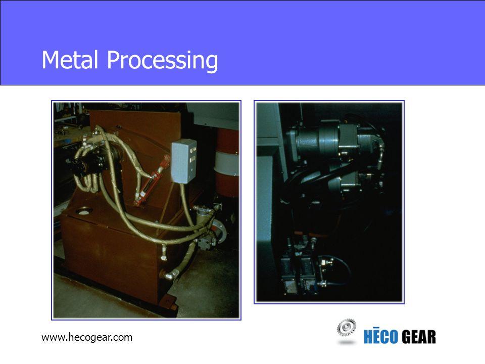 www.hecogear.com Metal Processing