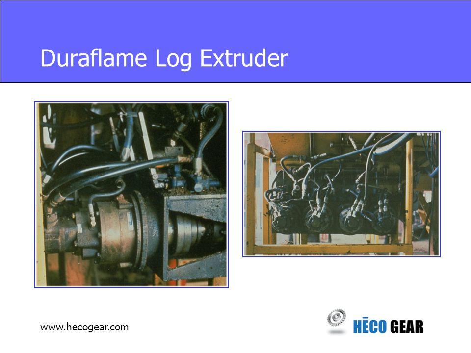 www.hecogear.com Duraflame Log Extruder
